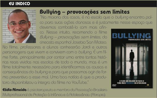 Elídio Almeida psicólogo em salvador bullying-filme